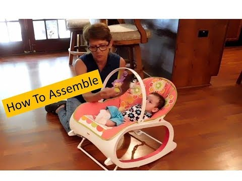 How To Assemble A Fisher Price Infant To Toddler Rocker With Lisa's World