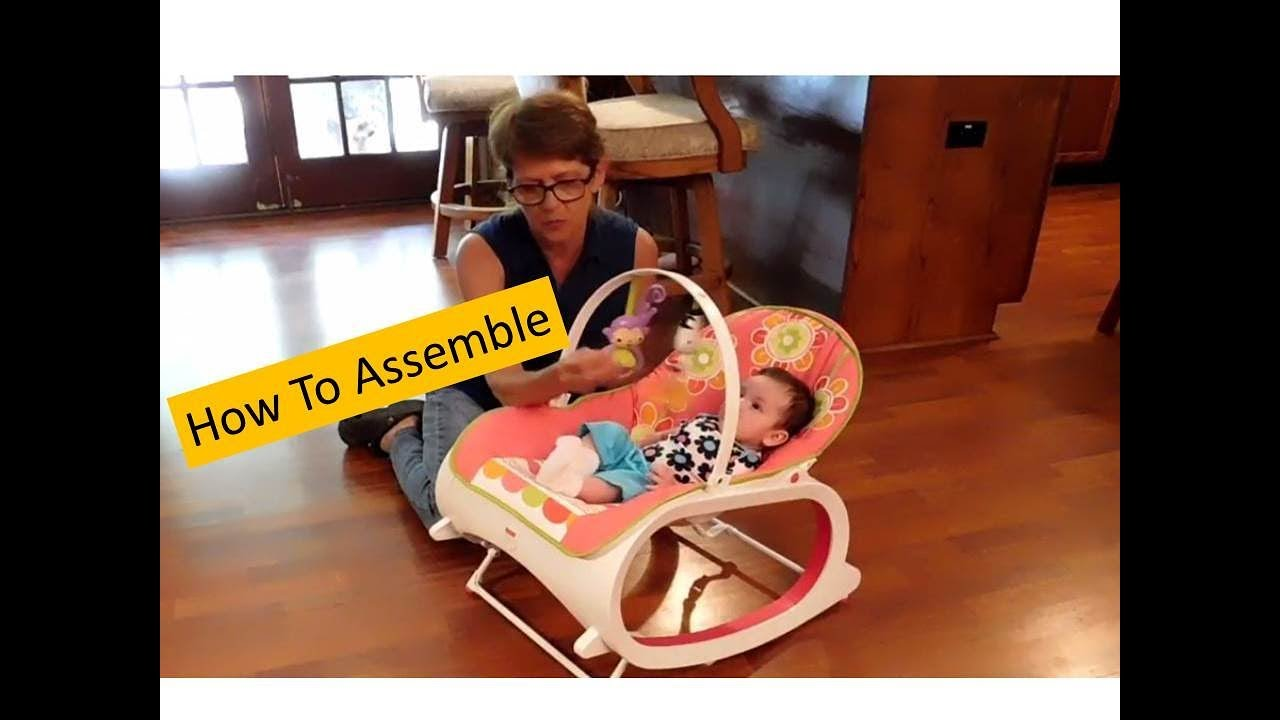 7f63dace042a How To Assemble A Fisher Price Infant to Toddler Rocker with Lisa s ...