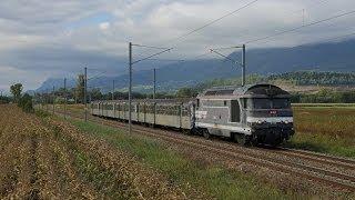 Automne 2013  - Quelques circulations de BB 67000...