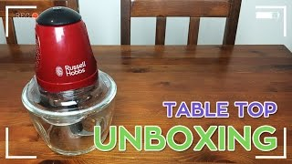 Russell Hobbs Rosso C23020 Mini Chopper - Table Top Unboxing - The Geek Mafia™