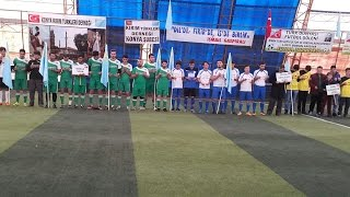 Konya Kırım Türkleri Derneği tarafından düzenlenen, Lütfi Boran anısına halı saha futbol turnuvası