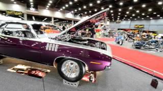 71 Plymouth Cuda Street Rod Detroit Autorama 2016