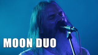 Moon Duo - Free action - Live (Dour 2015)