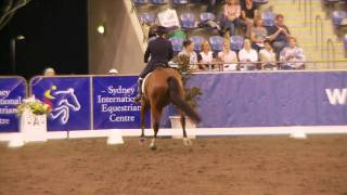 Nicky Pope and Fabarchie Grand Prix Freestyle CDI-W 2011 Dressage Nationals