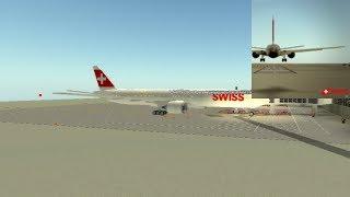 PERSONNEL DE CABINE ( SWISS Int'l Air Lines - B77W ( Roblox