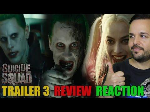 Suicide Squad  Blitz Trailer 3 MTV - REVIEW REACTION - CRÍTICA REACCIÓN - Esquadrón Suicida - Joker