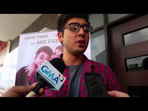 Andre Paras Answers Question On Virginity