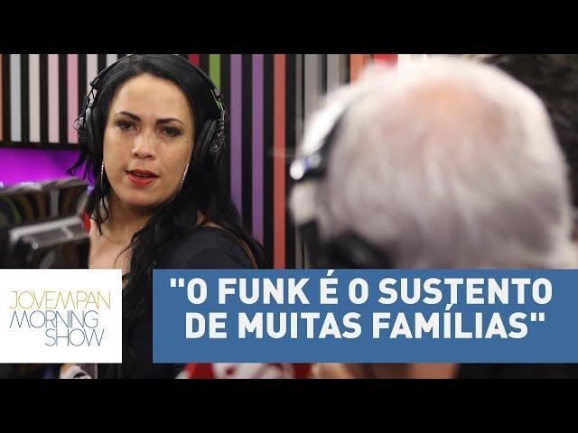 """""""Deus protege as favelas"""", afirma Fabiana Escobar sobre violência na comunidade"""