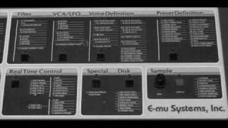 JMP EMU Emulator II Soundbanks - Analogue