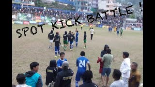 RUSLAN THREE STAR VS NEPAL POLICE (SPOT KICK BATTLE) !!