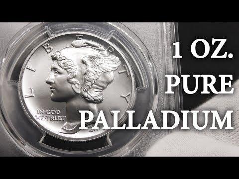 2017 Palladium Eagle - PCGS MS70 - Unboxing, 1 Oz. Palladium Coin