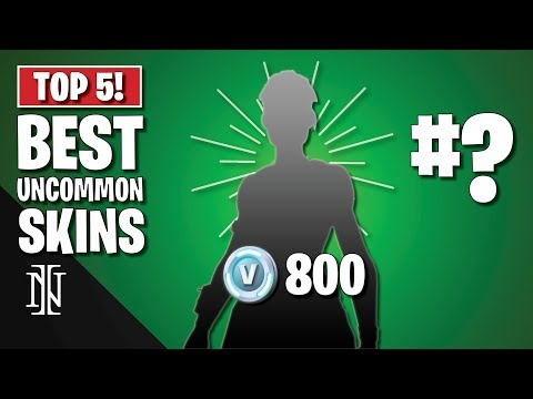 TOP 5 BEST UNCOMMON SKINS In Fortnite