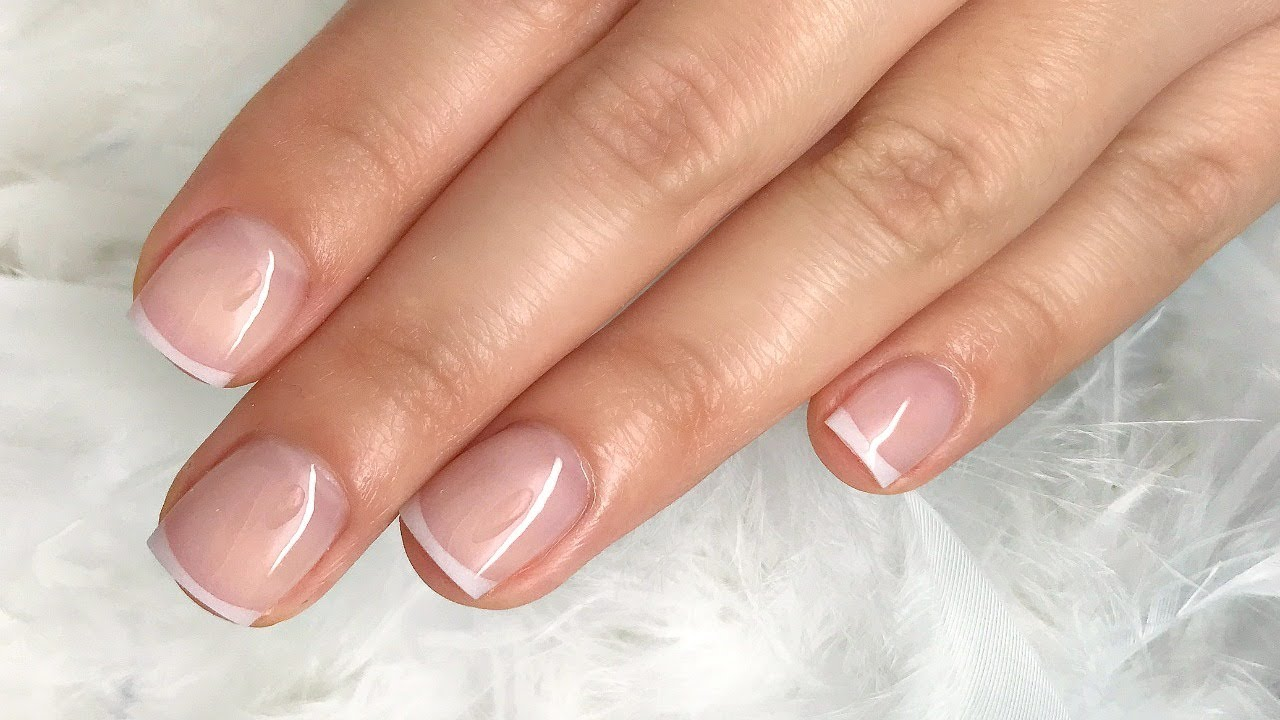 Sophisticated Acrylic French Nails