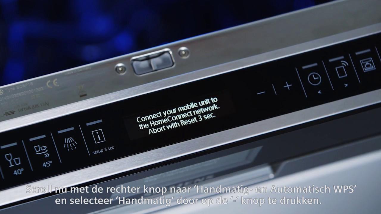 Vaatwasser Met Wifi : Uw siemens vaatwasser met de home connect app verbinden youtube