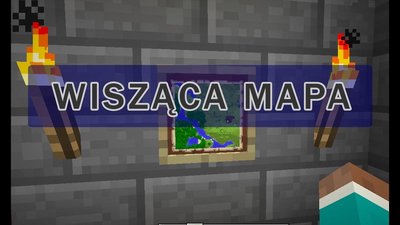 Minecraft Fajne Pomysły Jak Zrobić Wiszącą Mapę Youtube