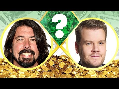 who's-richer?---dave-grohl-or-james-corden?---net-worth-revealed!-(2017)