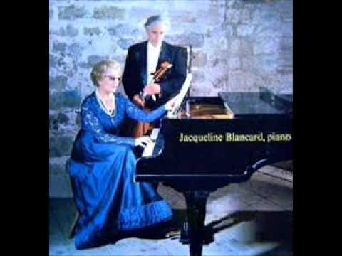 """Jacqueline Blancard plays De Falla """"Noches en los jardines de España"""""""