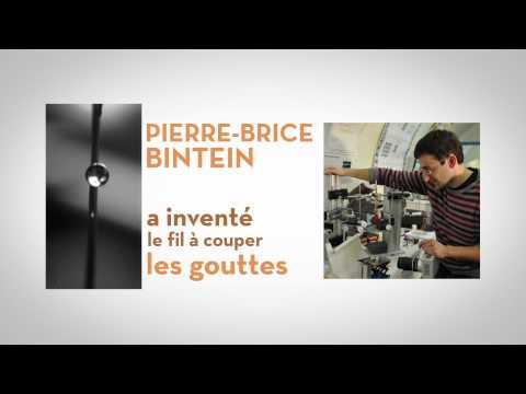 Pierre-Brice Bintein a inventé le fil à couper les gouttes