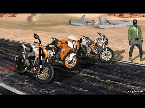 KTM Bikes Pack GTA SA Android- Duke 200, Duke 690 And RC8
