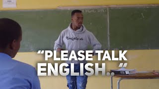 When The Teacher teaches English in another Language - Skits By Sphe