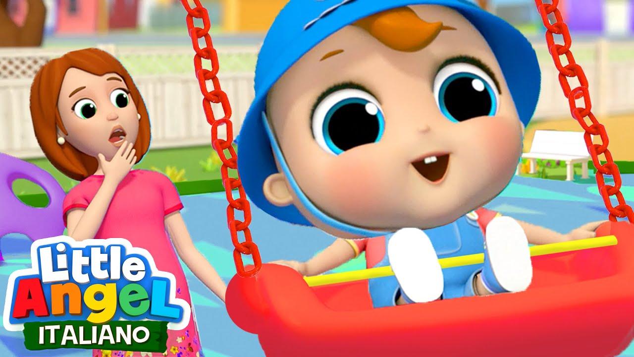 Avventure al Parco Giochi 😨🍂 Cartoni Animati & Canzoni Bambini | Little Angel Italiano
