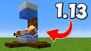 ПОСТРОЙКИ ИЗ НОВЫХ БЛОКОВ В МАЙНКРАФТ 1.13 / Minecraft 18w22a