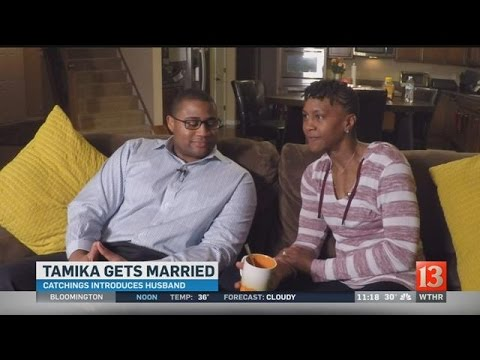Tamika Catchings and her new husband