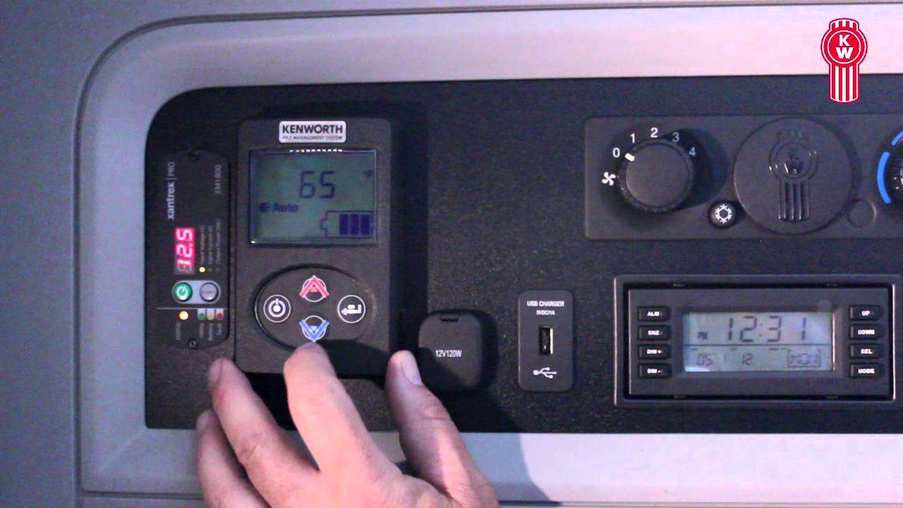 Kenworth Idle Management System