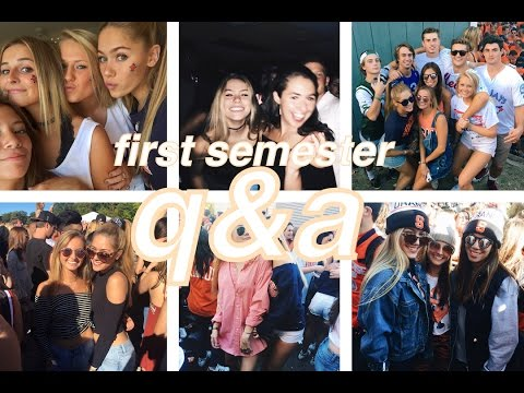 COLLEGE Q & A // Syracuse Universty- Making Friends, Rushing, Being Vegan, What I Wear