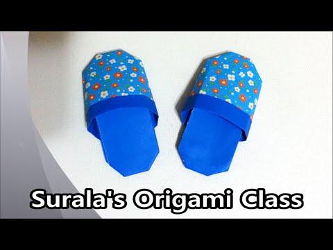 Origami - Slipper (Shoese)