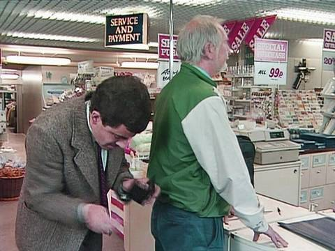 Credit Card Mix Up | Mr. Bean Official