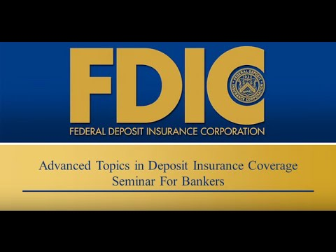 Advanced Topics in Deposit Insurance Coverage Seminar for Bankers