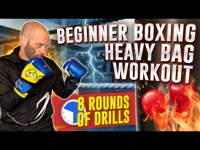 Boxing Heavy Bag Workout for Beginners