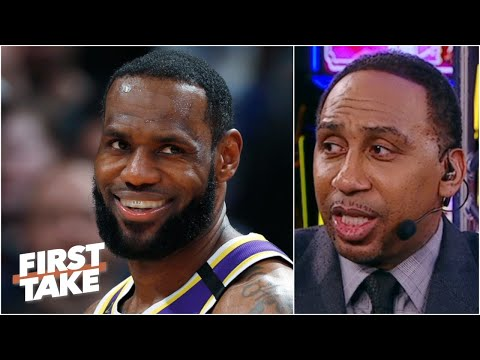 Stephen A. breaks down how LeBron can beat out Giannis in the MVP race | First Take