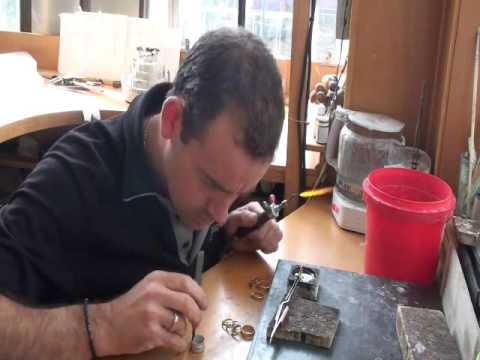 Jewellery workshop, Glen James Jewellers