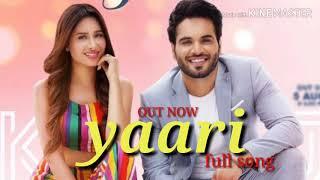 Yaari full song | yaari karaj randhawa ft mahir sharma & prince rakhdi | latest Punjabi song 2019 |