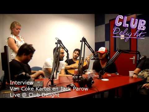 Interview Van Coke Kartel en Jack Parow bij Club Delight