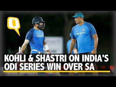Virat Kohli and Ravi Shastri on India