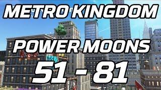 [Super Mario Odyssey] Metro Kingdom Post Game Power Moons 51 - 81 Guide