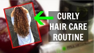 MY SIMPLE CURLY HAIR CARE ROUTINE