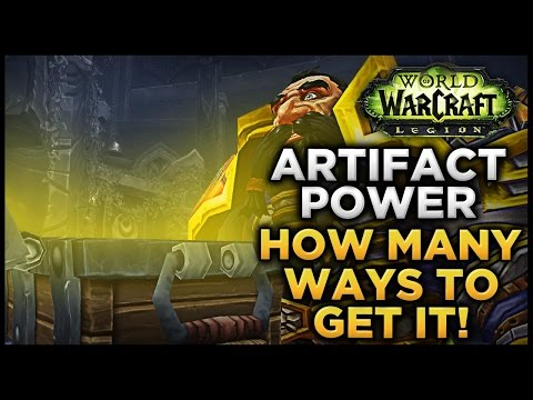 Artifact Power - The many ways to GET IT!
