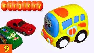 Машинки мультфильм - Город машинок - 9 серия: Автобус. Развивающие мультики