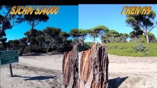 Сравнение камеры sj4000 и  Eken H9: пленер - море, пляж, лес.(Сравнительное видео на природе - экшн камеры Eken H9 и SJCAM SJ4000 WiFi. Купить экшн камеру Eken H9 в интернет-магазине..., 2016-02-02T05:45:08.000Z)
