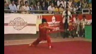 Wushu Zhao Chang Jun - Staff (Gunshu) 棍