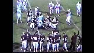 1992 93 romulus sr high school varsity football highlights part 1