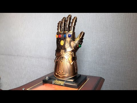 LowkyStar Thanos Infinity Gauntlet (Full Metal 1:1 Wearable Magnetic LED)