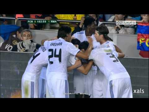 Gol de Cristiano Ronaldo Final Copa del Rey FC.Barcelona 0 Real.Madrid 1 Audio Cope