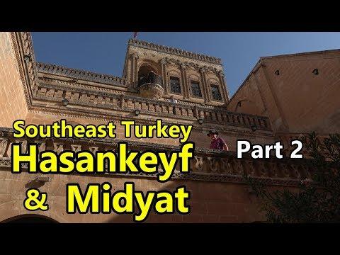 Southeast Turkey Part 2 Midyat \u0026 Hasankeyf in 4K with Turkish subtitles (Türkçe altyazılı)