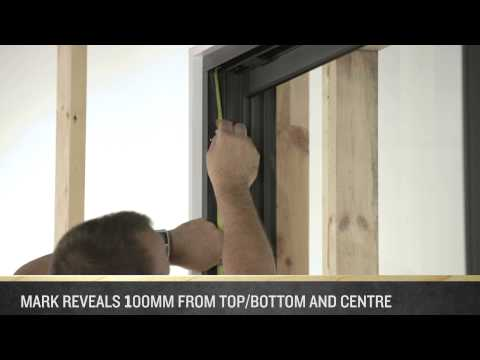 How to Install an A&L Sliding Door (3 Panel)