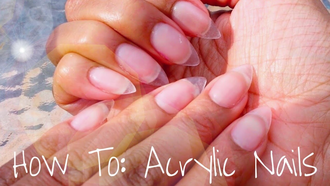 acrylic nails tutorial 2016